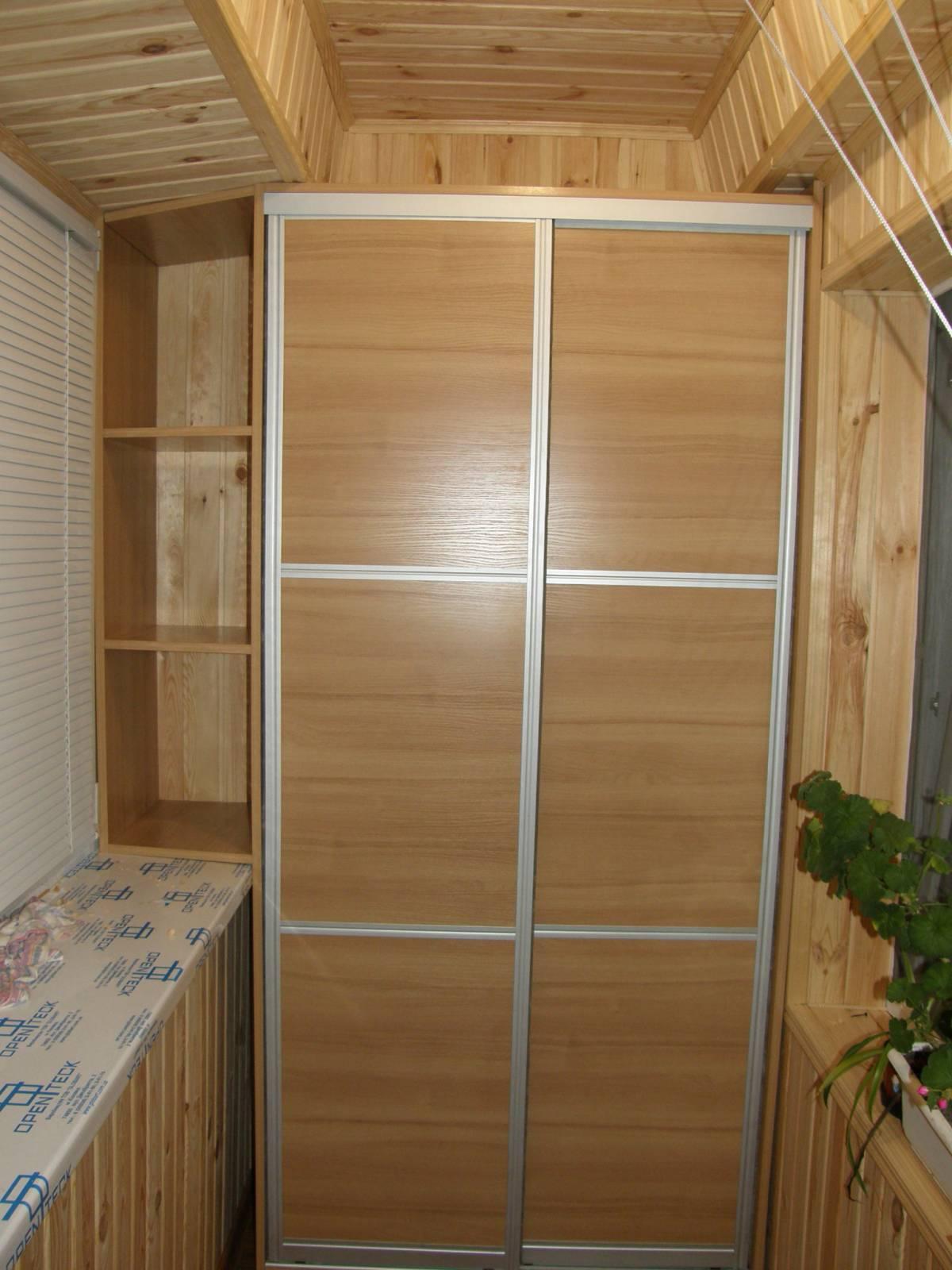 52 шкаф балкон орех болонья св.